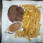 steack haché sauce poivre