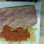 jambon grillé